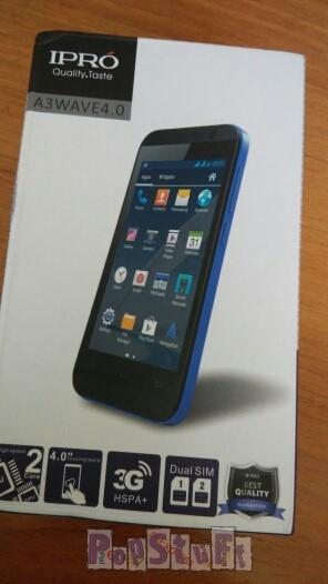 Смартфон Ipro MTK6572 с оригинальной коробкой