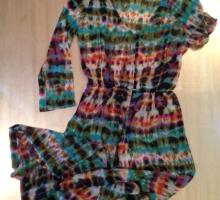 Легкое шифоновое платье туника