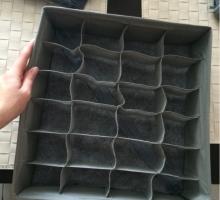 Нетканый ящик для белья и носок