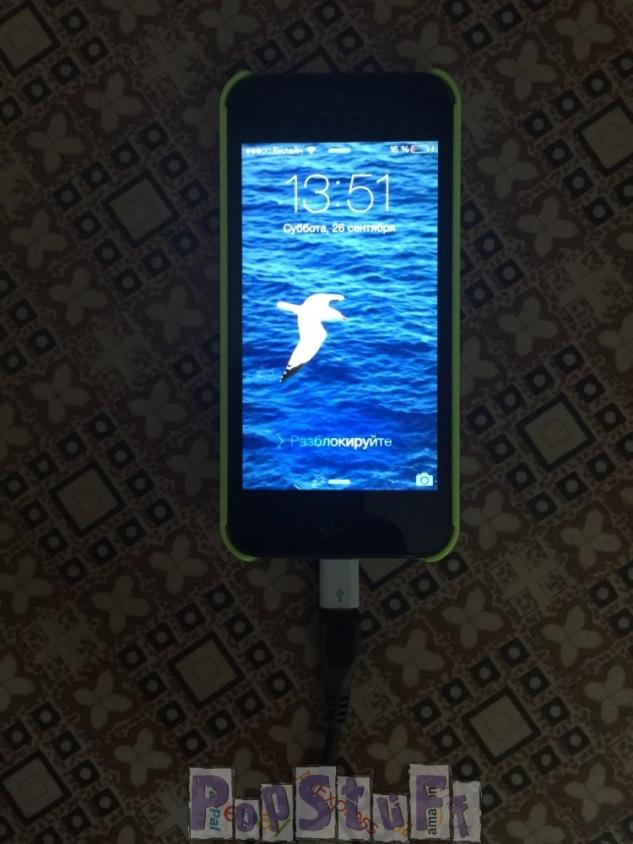 usb переходник для iphone с зарядкой Nokia
